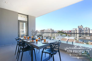 Sea Point Apartment : Sea Point Deluxe Balcony2