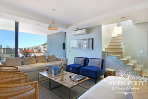 Sea Point Apartment : Sea Point Deluxe Lounge View