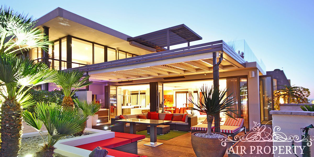 Holiday Rentals in Cape Town / White Gold Penthouse