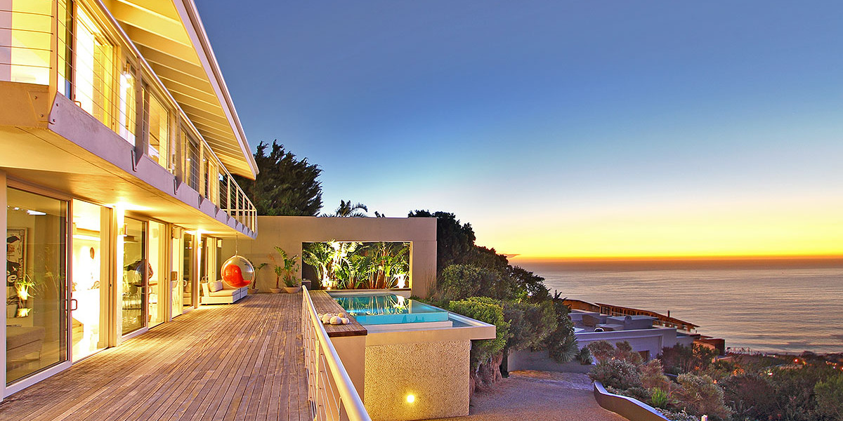 Luxury Camps Bay Villa. Cape Town's best Holiday Rentals