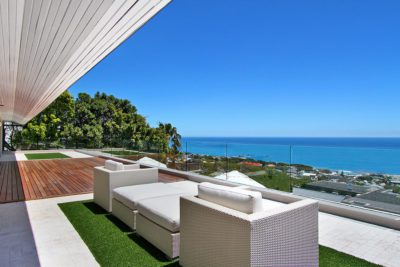 Camps Bay Villa : Top outdoor area