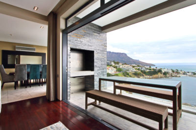 Camps Bay Villa : Oudoor seating