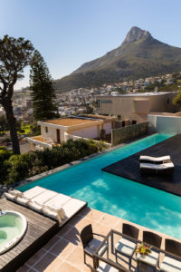 Camps Bay Villa : 4 New Outdoor View from Bedroom 2