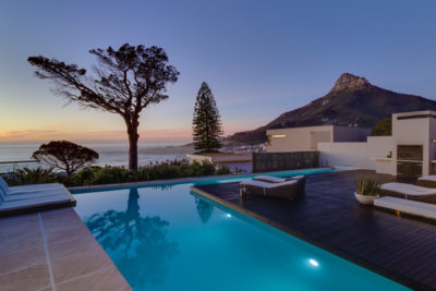 Camps Bay Villa : 7 New Outdoor Pool Colour Eve