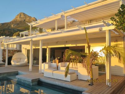 Camps Bay Villa : MAIN HOUSE – FULL HOSUE WITH PENTHOSUE ABOVE