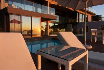 Camps Bay Villa : Private Pool Suite Sunset View