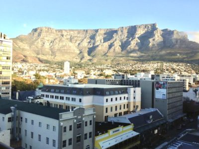 Cape Town CBD  : Studio 10 22 View from the Balcony
