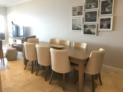 Mouille Point Apartment : Mouille point 3 bedroom apartment viewDining room 2