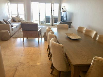 Mouille Point Apartment : Dining room