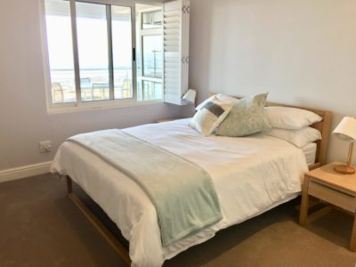 Mouille Point Apartment : Mouille point 3 bedroom apartment view First bedroom