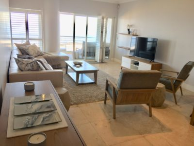Mouille Point Apartment : lounge 2