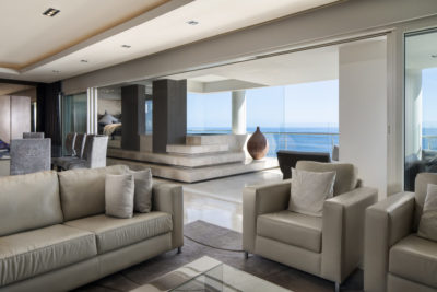 Mouille Point Apartment : 5 bedroom penthouse Mouille Point luxury villa