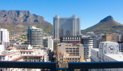 Cape Town CBD Apartment : Air_Property_City_accommodation_balcony